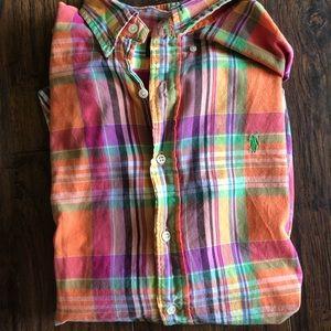 Ralph Lauren colorful button down